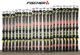 Лыжи FISCHER RC4 THE CURV RACE 164 Black-Red