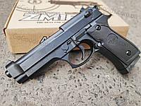 Пистолет Beretta 92 металлический страйкбольный спринговый (пружинный)