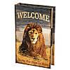 Книга-сейф Veronese Лев 26х17х5 см 0001-001