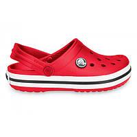 Красные Сабо Кроксы Crocs Crocband Red летняя обувь