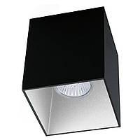 """Світильник стельовий Eglo 63193 1х35W GU10 чорний/білий """"Поласо Про"""""""
