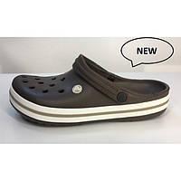 Летняя обувь Кроксы Сабо Crocs Crocband Espresso