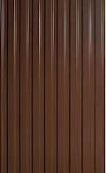 Профнастил коричневый 2м*0,95м