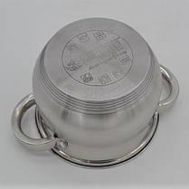 Набор кастрюль Benson BN-211 (ёмкость 2,1 л, 2,1 л, 2,9 л, 3,9 л, 6,5 л), фото 2
