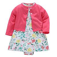 Детский костюм для девочки 2 в 1 Весенний сад Berni