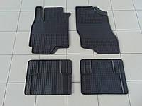Коврики в салон резиновые для Mitsubishi Lancer(9) 04-/Mitsubishi Outlander 03-, Polytep, комплект 4шт