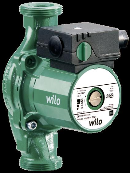 Циркуляционный насос с мокрым ротором Wilo Star-RS30/8
