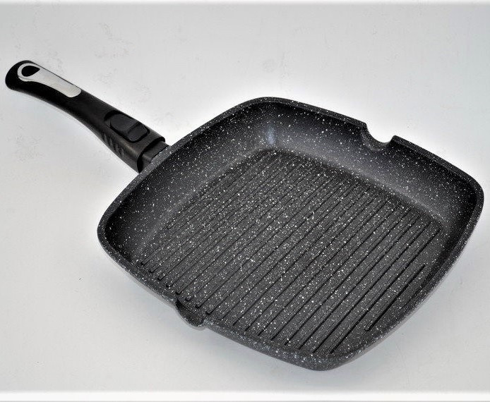 Гриль сковорода Benson BN-311 (28*28*4 см)