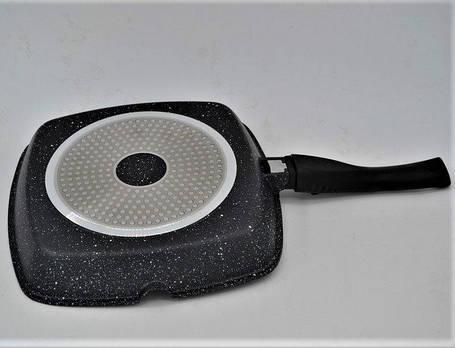 Гриль сковорода Benson BN-311 (28*28*4 см), фото 2