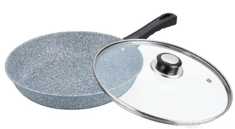Глубокая сковорода Benson BN-518 (24*7см)