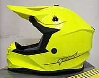 Шлем GEON 633 MX Крос Neon Yellow, фото 1