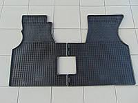 Коврики в салон резиновые для Volkswagen T4, Polytep, комплект 2шт