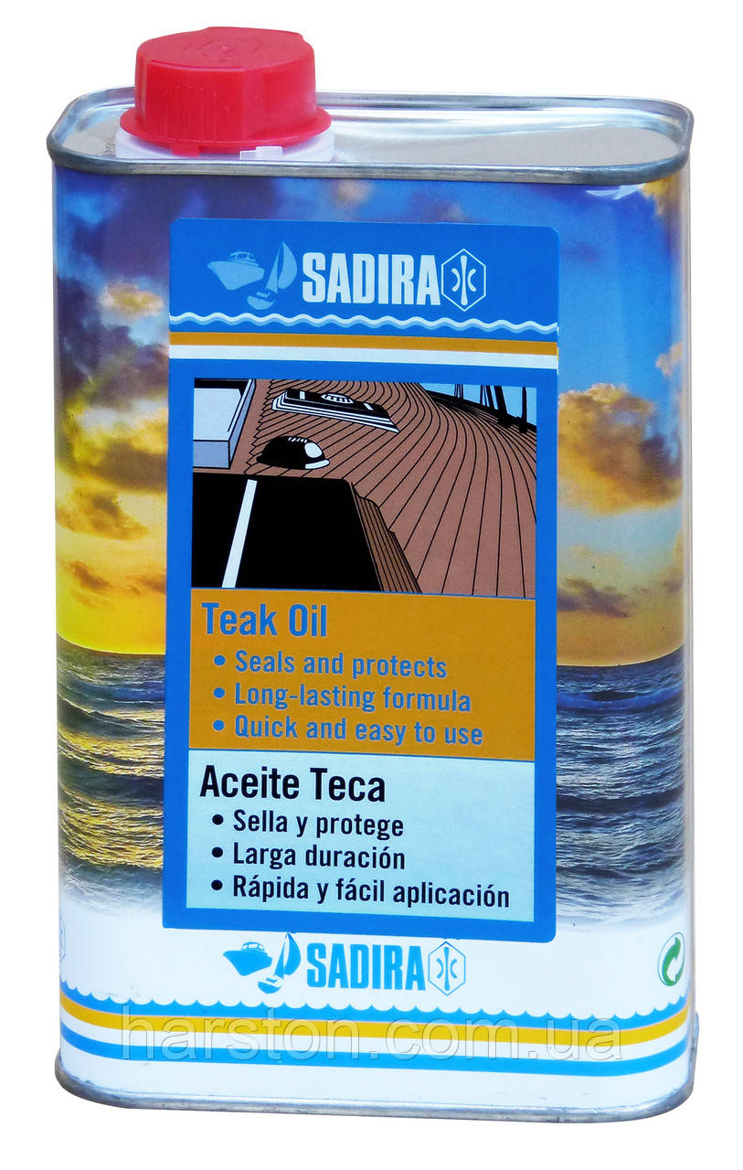 Тиковое маcло SADIRA Teak Oil, 1 л