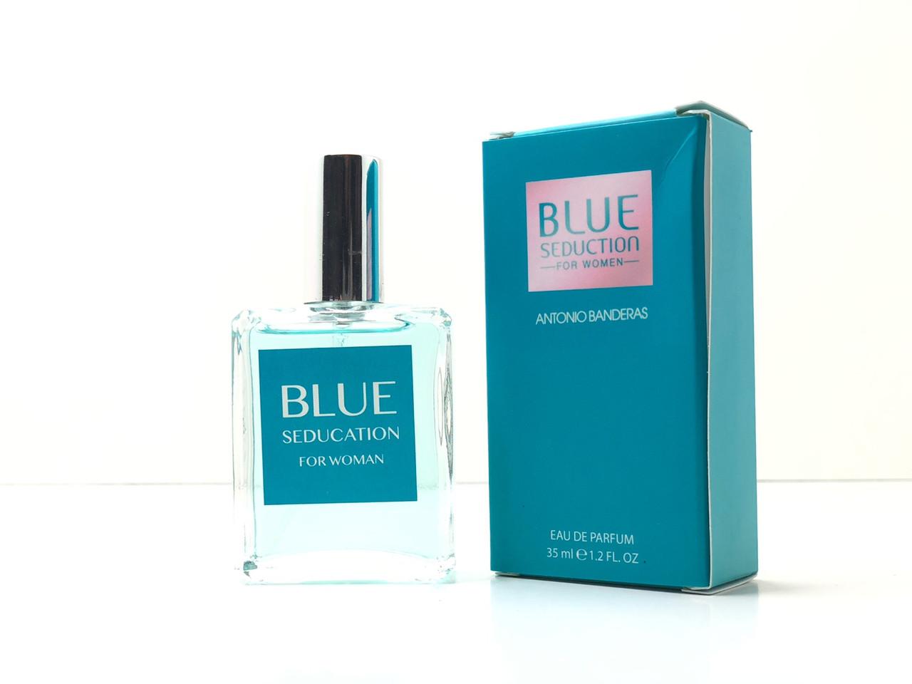 Мини парфюм Blue Seduction For Women Antonio Banderas ( Блу Седакшн Фор Вумен Антонио Бандерас)35 мл