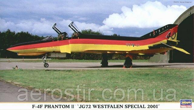 F-4F Phantom II 'JG72 Westfalen Special 2001' 1/72 Hasegawa 00820