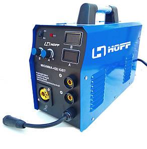 Сварочный полуавтомат инверторного типа Hoff  MIG/MMA-400
