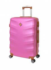 Чемодан дорожный Bonro Next (небольшой). Цвет розовый.