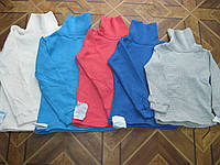 Детские цветные водолазки с утеплением    для деток   110-116  см Украина хлопок, фото 1