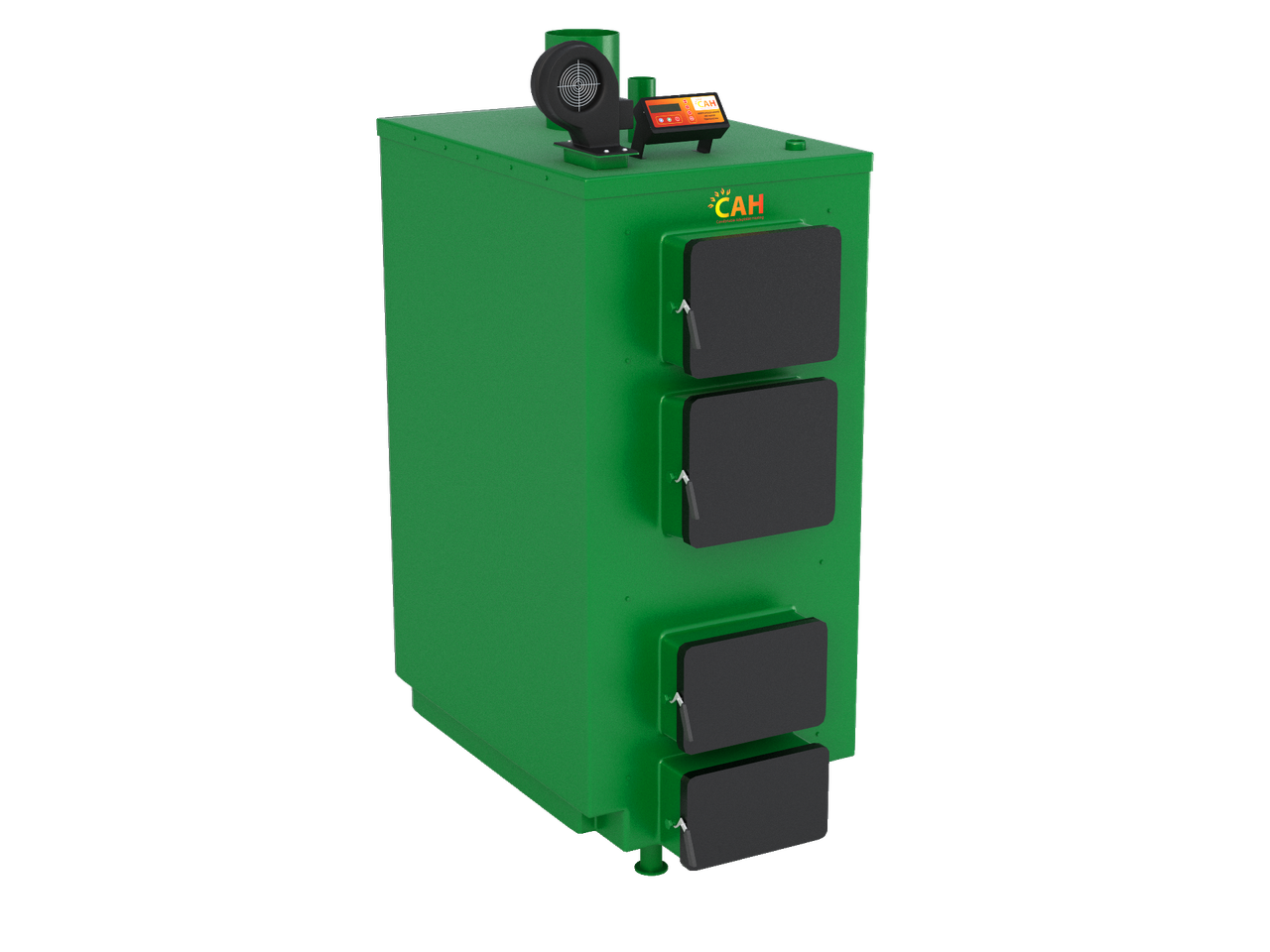 САН- ПТ (CAH-PT)  дровяные котлы  длительного горения для систем водяного отопления мощностью 38 кВт