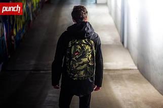 Городской рюкзак Punch Camo, спортивный рюкзак, фото 3
