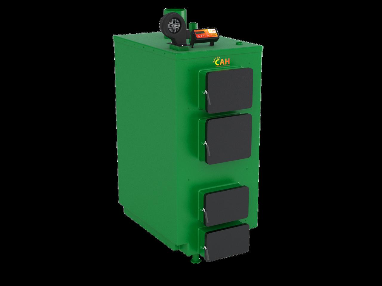 Твердотопливный котел САН серии ПТ мощностью 65 кВт
