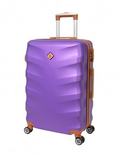 Дорожный чемодан Bonro Next (средний). Цвет фиолетовый.