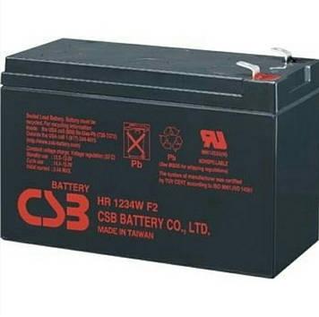 Аккумулятор CSB HR1234WF2 ( 12в 9Ач )
