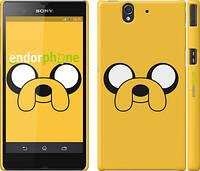 """Чехол на Sony Xperia Z C6602 Adventure Time. Jake """"1121c-40"""""""