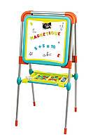 Двосторонній мольберт дошка для малювання Smoby з аксесуарами 410103