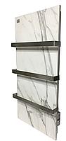 Керамический полотенцесушитель LifeX Warm Towel ПСК600R (белый мрамор)