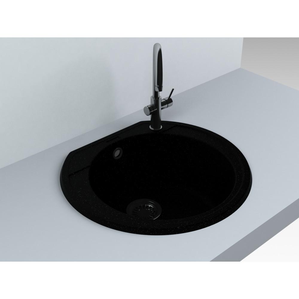 Кухонна мийка Miraggio Tuluza black