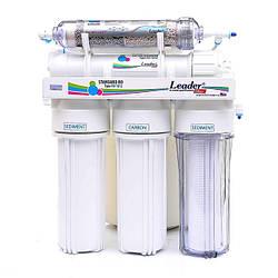 Фільтр для води з ощелачивателем Leader Standart RO6 C HD 20