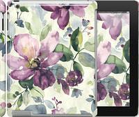 """Чехол на iPad 2/3/4 Цветы акварелью """"2237c-25"""""""