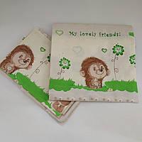 Постельное белье для новорожденного малыша в кроватку