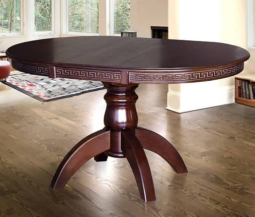 Стол обеденный трансформер Престиж d100+40 ТМ МиксМебель, фото 2