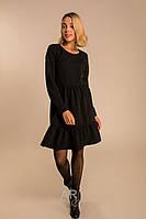 Женское красивое платье с длинным рукавом XS, S, M