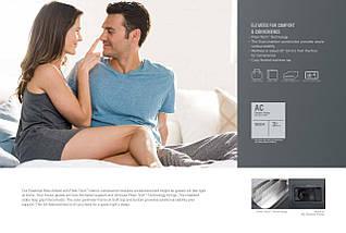 Надувная двухспальная кровать Intex 64140 (152x203x51см.) Серая, фото 3