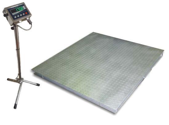 Весы низкопрофильные ТВ4-1000-0,2-12eh нержавеющего исполнения (150 кг - 3 000 кг)