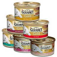 Консерва Purina Gourmet Gold шматочки у соусі 85г