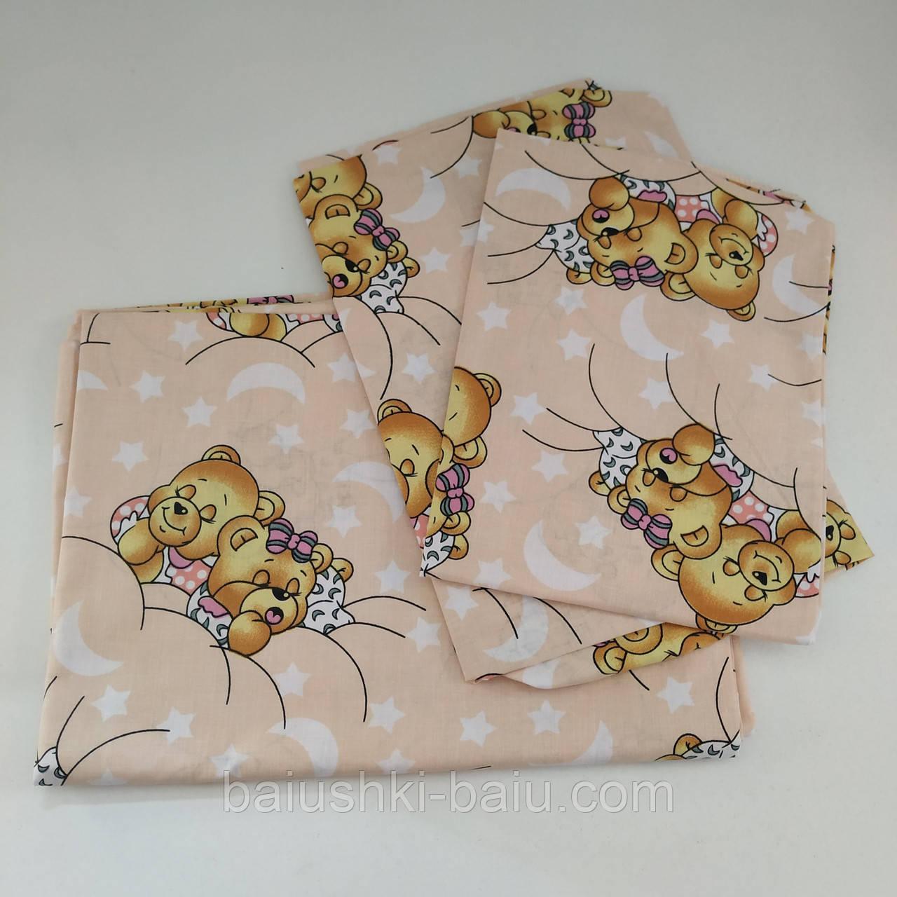 Сменное постельное белье в кроватку для ребенка 2-4 лет