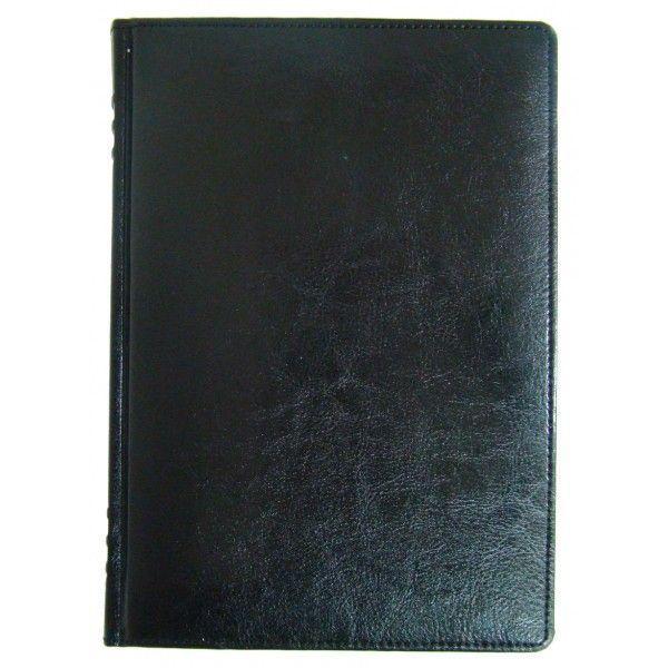 Ежедневник недатированный BRISK ЗВ-433 SARIF А5 (14,2х20,3) с французским переплетом, черный
