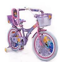 """Детский Велосипед 20"""" ICE FROZEN(Холодное Сердце, Ельза)"""