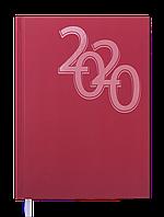 Ежедневник датированный 2020 OFFICE, A5, красный