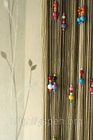 Кисея шторы-нити для детской комнаты  К8