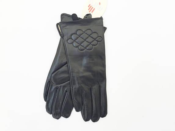 Перчатки кожаные женские в БОЛЬШОМ размере, фото 2
