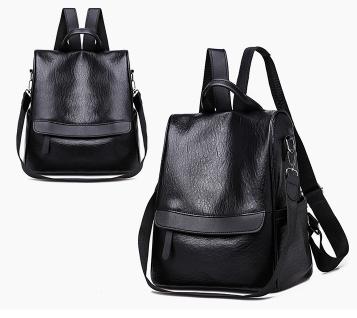 Сумка-рюкзак черный код: ( R401 )