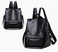 Сумка-рюкзак черный код: ( R401 ), фото 1