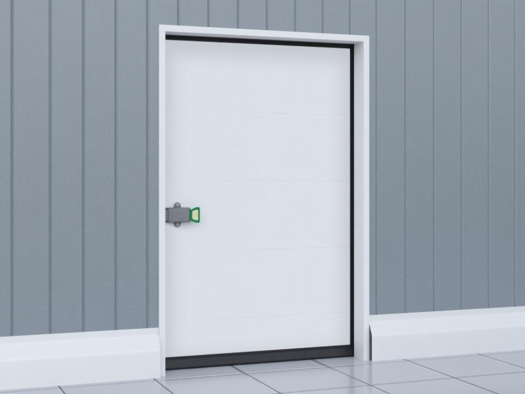 Двери для охлаждаемых помещений DoorHan IsoDoor IDH1 распашного типа