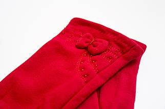 Женские стрейчевые перчатки Красные 119S2, фото 2