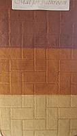 Набор ковриков с ворсом для ванной 60х100 и туалета 60х40см., фото 1
